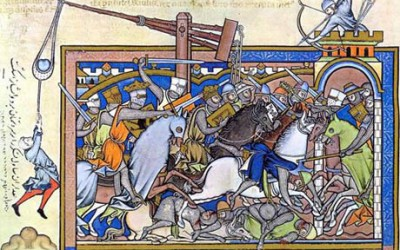 The 1317 Siege of Dublin.
