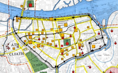 Medieval Dublin; A Tale Of Two Cities