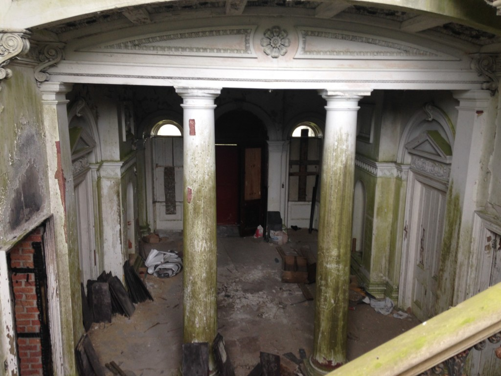 inside a haunted mansion woodlawn house co galway