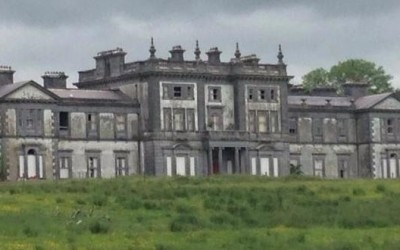 Inside a 'haunted' mansion – Woodlawn house, Co Galway.