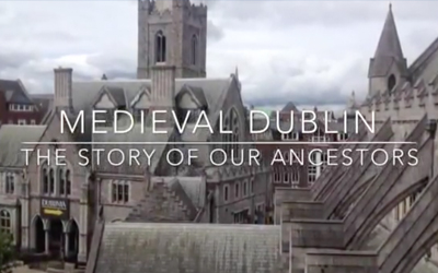 Video preview of medieval Dublin tour.