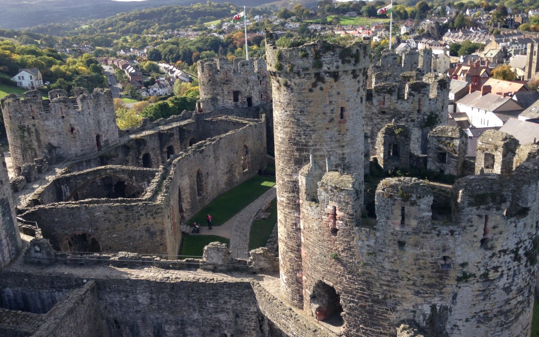 Video Tour of Conwy Castle, Wales
