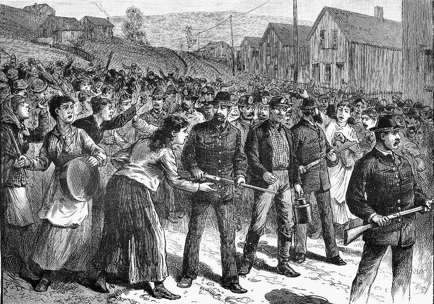 The Land War & the Great 1881 Strike – Secret Societies, Communism and Coal Part III