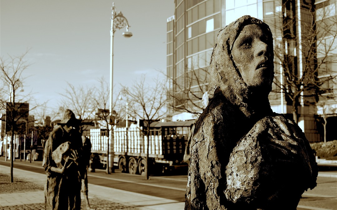 Podcast: Tales from the Great Famine in Dublin.