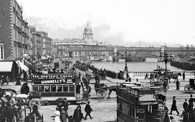 Dublin in photos: the difference a century makes.