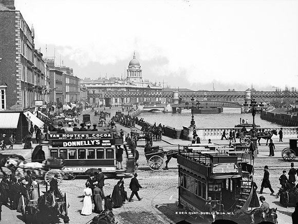 Dublin In Photos The Difference A Century Makes Irish