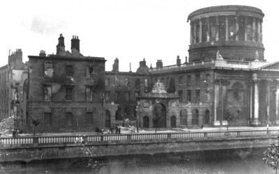 Irish History Lost. The Irish Civil War and the destruction of the Four Courts.
