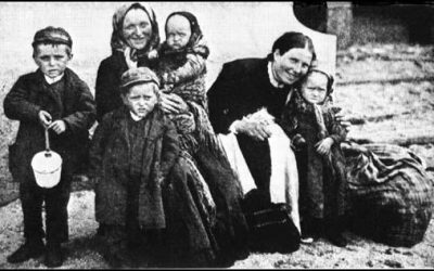 Exiles – Irish Famine Emigrants (the Great Famine XIX)